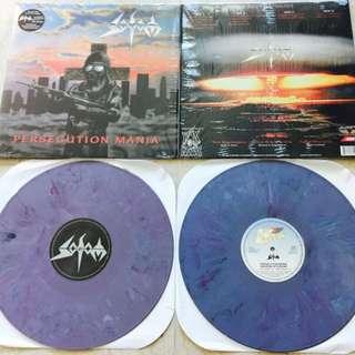 Vinyl Records sodom blasphemy