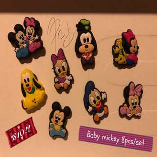 Baby Mickey Mouse Fridge Magnets