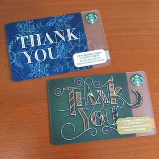 Starbucks USA - Starbucks Thank You Card