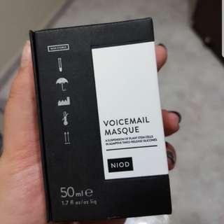 BNIB NIOD VOICEMAIL MASQUE 50ml