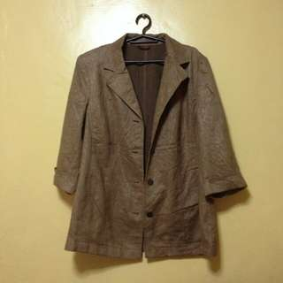 Brown Coat (Atelier Collection)
