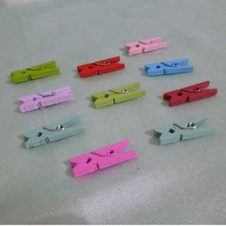 Wooden Craft Clothespin