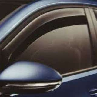 Volkswagen golf mk7 window visor