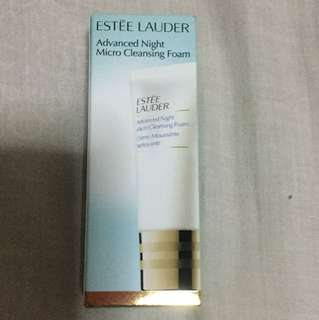 Estée Lauder Advanced Night Micro Cleansing Foam Trial Size Brand New Unused