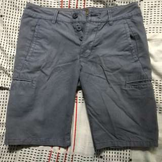 Cotton On Greyish Blue Shorts Size 30