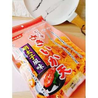🚚 «Kimi Shop»日本➜預購 日本製辣味明太子酥炸魷魚