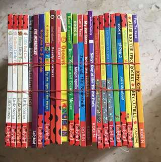 Ladybird and Robin 24 books