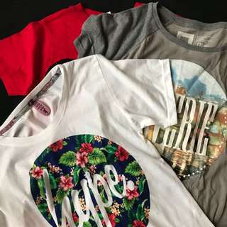 3 shirts for 300!!