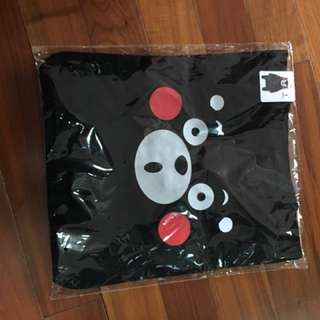 Kumamon 黑色tote bag