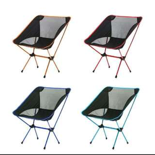 Lightweight foldable portable chair