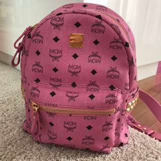 MCM women side stud backpack