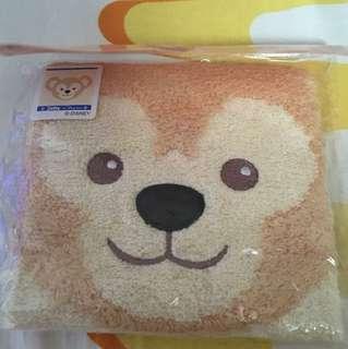 Duffy Face Towel (Disney Original)