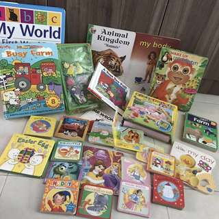 English books preschoolers, games puzzles, magnet