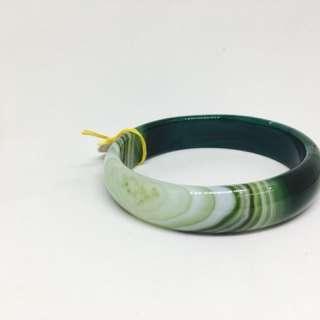 🚚 《佛緣》綠瑪瑙手環