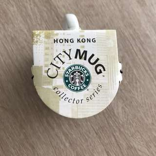 Starbucks city mug, Hong kong