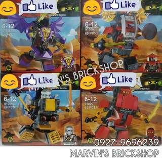 For Sale NINJAGO 4in1 set Building Blocks Toy
