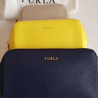 Authentic Furla pouch