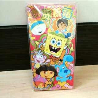 海綿寶寶 Sponge Bob 賀年利是封