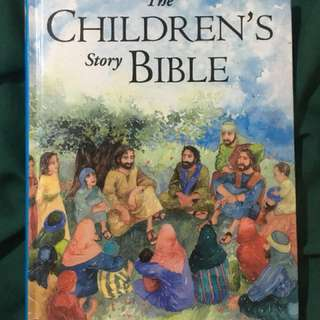 Children's story bible book