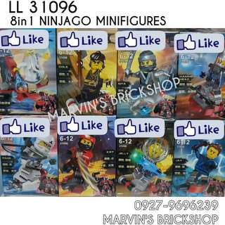 For Sale NINJAGO 4in1 Minifigures