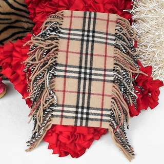 BURBERRY Fringed Scarf - ALMOST NEW