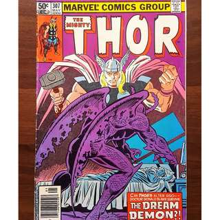 The Mighty Thor 307 (1981) Tales of Asgard back-up