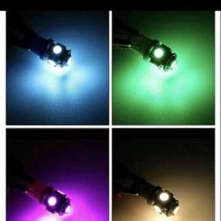 T10 Led bulbs (Many colours to choose)