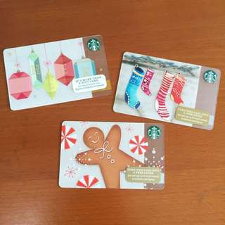 Starbucks USA - Starbucks Card Christmas 2015