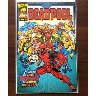 Deadpool Wizard 0 issue HTF (1998)