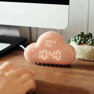 智能雲朵鬧鐘