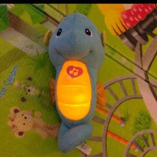 Fisher price sea monster soothing music toy