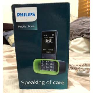 Philips E311 phone not iphone x
