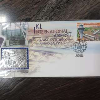 Msia 1998 KL Intl Airport FDC
