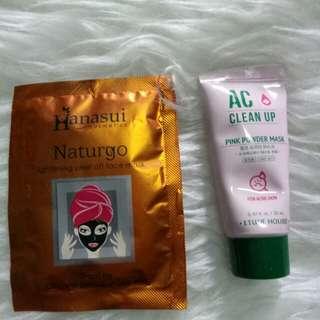 Etetude Ac clean up + masker naturgo