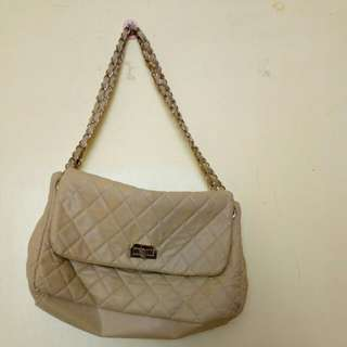 Chanel flap inspired purse