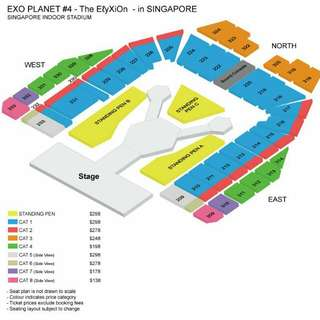 [Closed/Sold] [WTS] EXO Elyxion Singapore concert