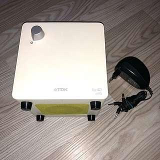 TDK Xa-49 Flat Panel 2.1ch Acoustic Sound System