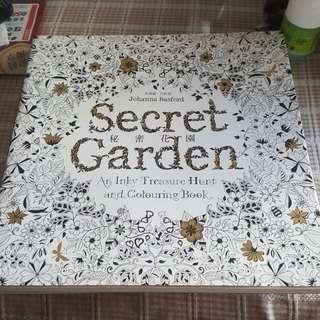 🚚 療癒畫冊-秘密花園