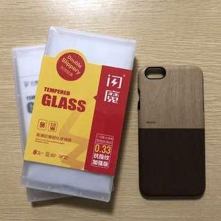 Apple iphone 6 手機殻 + 手機mon貼(玻璃貼)