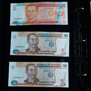 Philippines peso 舊鈔 菲律賓紙幣