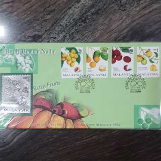 Msia 1998 Rare Fruits FDC