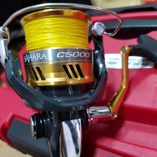 Shimano Sahara C5000XG & Eupro Hammer II Jig