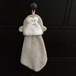 Penguin hand towel