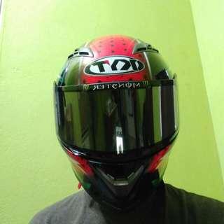 Helmet KYT VENDETTA 2 (Watermelon)
