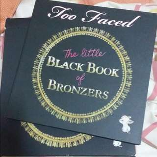 Too Faced Black Book Of Bronzers