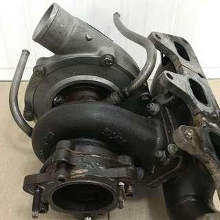 HKS Garrett M12 turbo (twin)