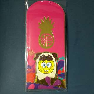 New LIMITED edition Spongebob Red Packets 8pc