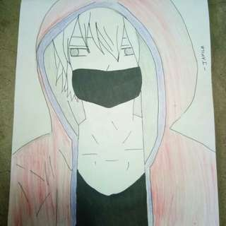 Anime. drawing