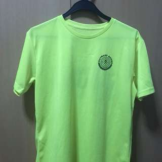 neon yellow obs shirt