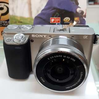 Kamera SONY Alpha 6000 PROMO Cash Back (Bisa KREDIT)